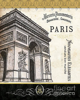 Paris Ooh La La 2 by Debbie DeWitt
