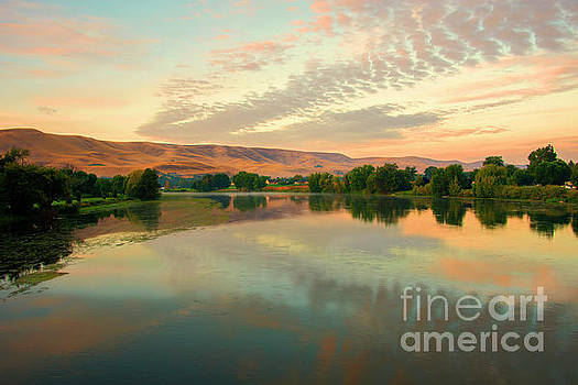 Pastel Reflections by Mike Dawson