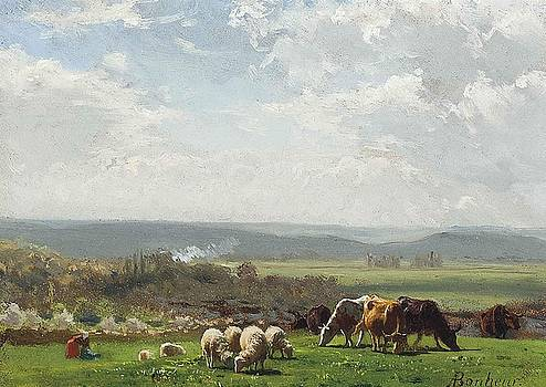 Pasture in Auvergne by MotionAge Designs