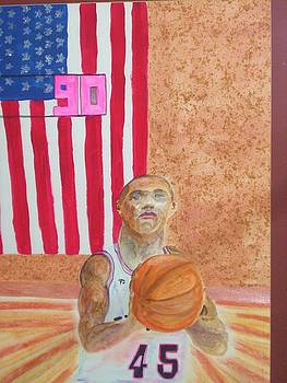 Patriotic Player by Jack Donahue