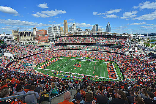 Paul Brown Stadium - Cincinnati Bengals by Mark Whitt