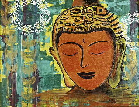 Peaceful Buddha by Seema Varma