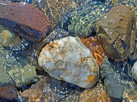 Pebbles In A Stream by Richard Hayman
