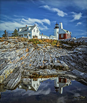 Pemaquid Reflections by Gary Shepard