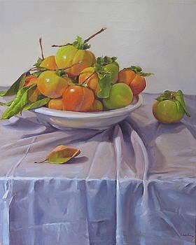 Persimmon Plenty by Sarah Sedwick