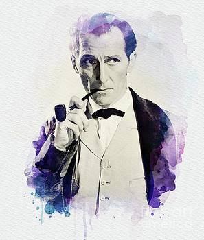 John Springfield - Peter Cushing as Sherlock Holmes