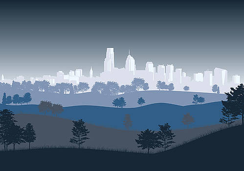 Philadelphia by David Oakill