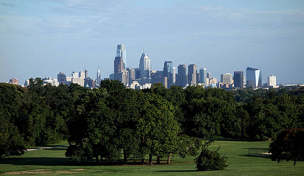 Philadelphia Skyline by Gregory Grant