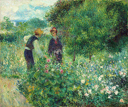 Auguste Renoir - Picking Flowers