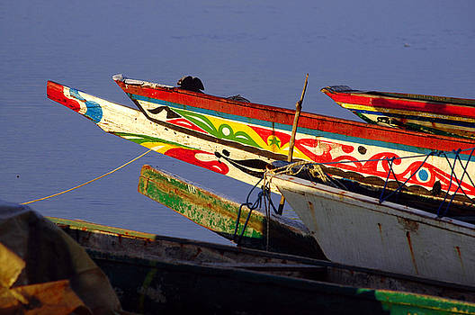Eduardo Huelin - Picture of traditional boats captured in Senegal