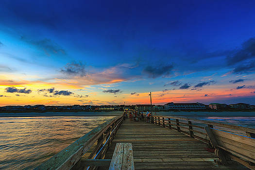 Pier View Sunset by Nick Noble