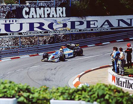 John Bowers - Pierluigi Martini at 1994 Monaco Grand Prix
