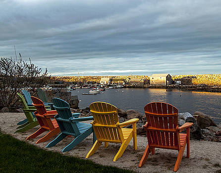 Pigeon Cove Harbor by Elaine Somers