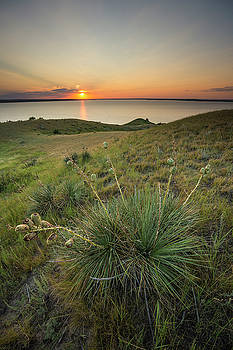 Pike Haven Sunset  by Aaron J Groen