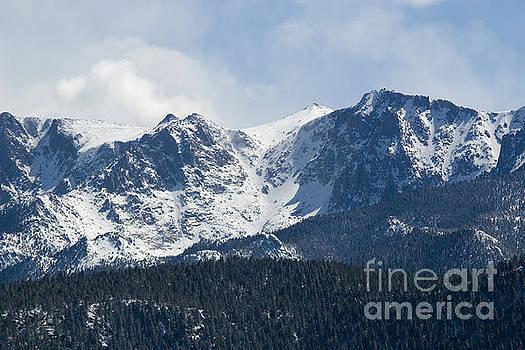 Steve Krull - Pikes Peak Colorado in Fresh Snow