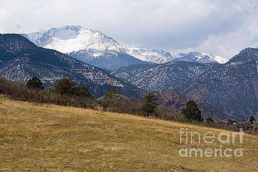 Steve Krull - Pikes Peak from Red Rock Canyon