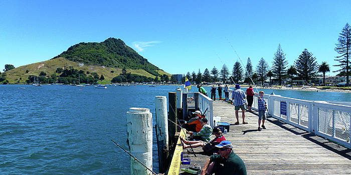 Pilot Bay Beach 8 - Mount Maunganui Tauranga New Zealand by Selena Boron
