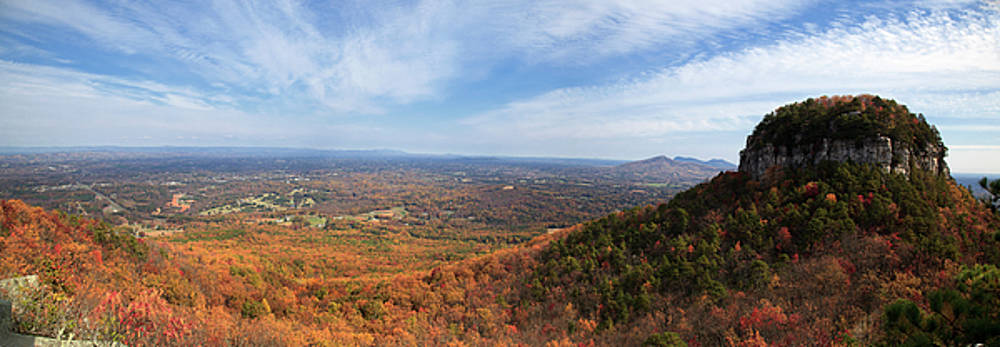 Jill Lang - Pilot Mountain Panorama