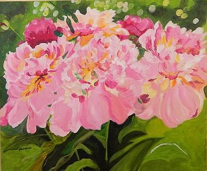 Pink Spring by Pamela Trueblood