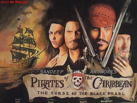 Pirates Of The Carribean by Sandeep Kumar Sahota