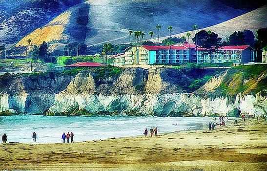 Pismo Beach View by Joseph Hollingsworth