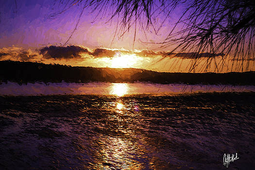 Pittwater Sunset by Chris Hood