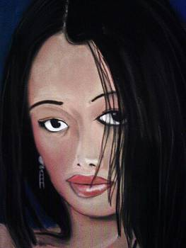 Plain Lady by Garnett Thompkins