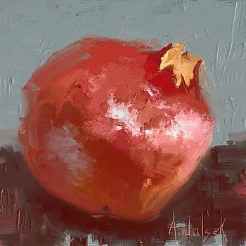Pomegranate by Barbara Andolsek