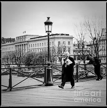 Cyril Jayant - Pont des Arts Paris.
