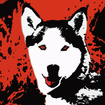James Hill - Pop Art Dog