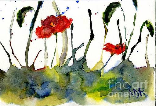 Poppies by Andrea Rubinstein