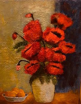 Poppies by Marie Hamby