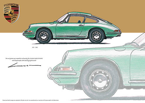 Porsche 912 1965 by Luc Cannoot