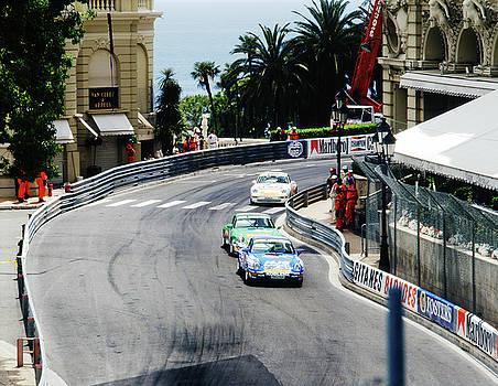 John Bowers - Porsches at Monte Carlo Casino Square
