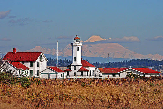 Port Townsend Lighthouse by Jack Moskovita