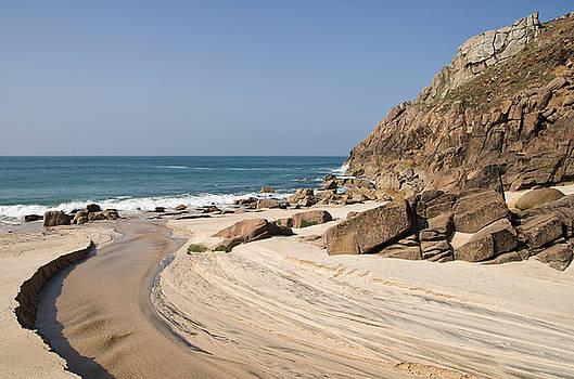 Portheras beach in NW Cornwall by Pete Hemington