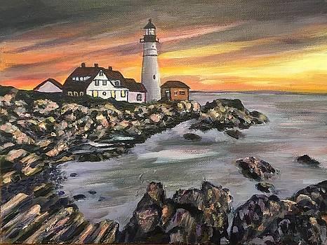 Portland Head Lighthouse by Richard Nowak