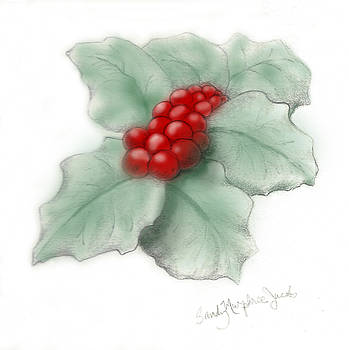 Portland Holly by Sandy Murphree Jacobs