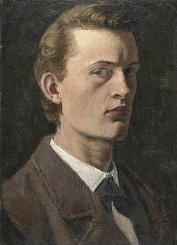 Portrait by Edvard Munch