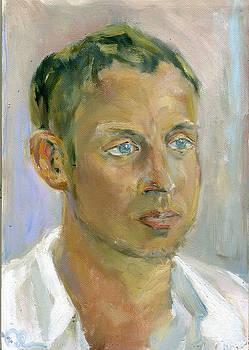 Portrait Of a Man by Lelia Sorokina