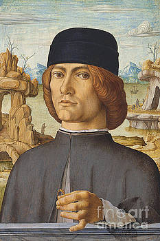 Portrait of a Man with a Ring by Francesco del Cossa