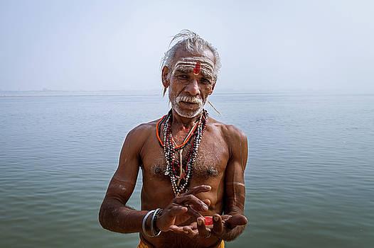 Mahesh Balasubramanian - Portrait of a Sadhu, Varanasi, India