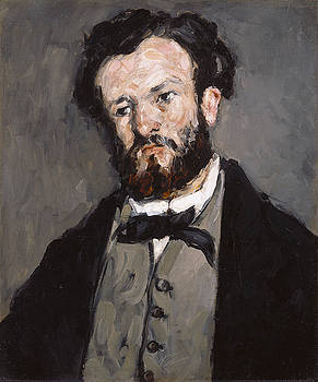 Paul Cezanne - Portrait of Anthony Valabreque