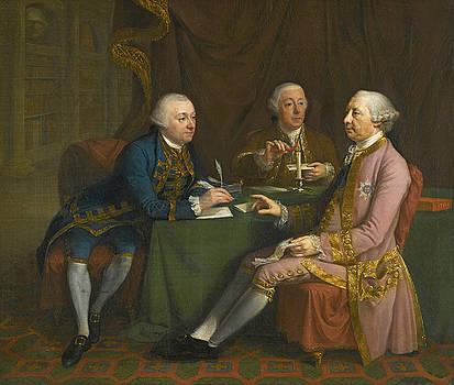 Portrait Of George Montagu Dunk by Hugh Douglas