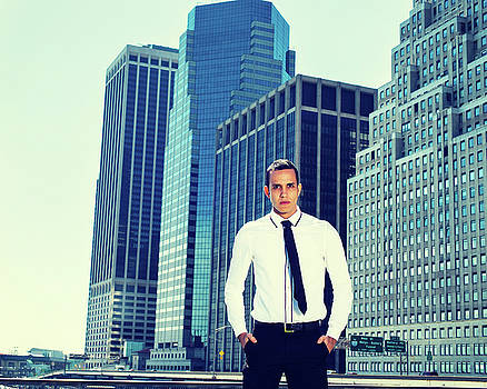 Alexander Image - Portrait of Young Businessman in New York