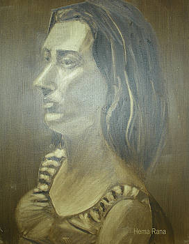 Portrait Study by Hema Rana