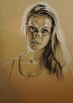 Portrait by Veronica Coulston