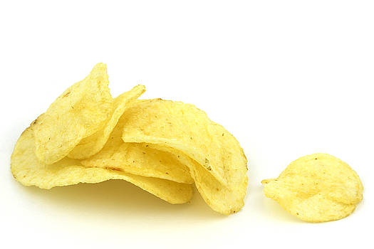 Potato chips by Blink Images