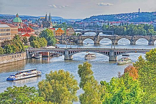 Dennis Cox WorldViews - Prague Bridges