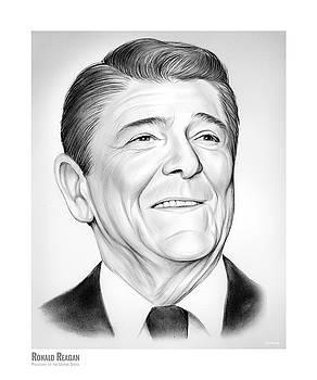 President Ronald Reagan by Greg Joens